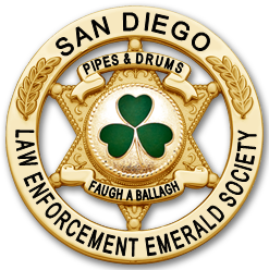 SDLEES Pipes & Drums Badge